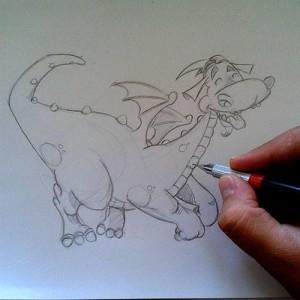 dragon peteur petit louis