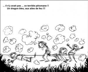 Le Dragon Péteur  page4