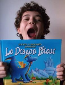 morgann presente le dragon péteur