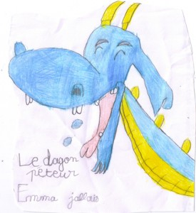 JALLAIS Emma - Le Dragon Péteur