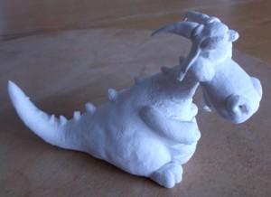 dragon modelage