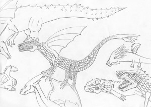 dessin dragon sandre 10 ansFB